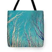 Vintage Trees Tote Bag
