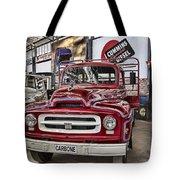 Vintage Truck Tote Bag