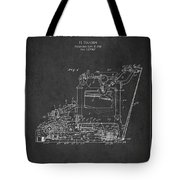 Vintage Typewriter Patent From 1918 Tote Bag by Aged Pixel