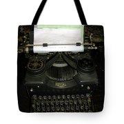 Vintage Typewriter Mechanical Tote Bag