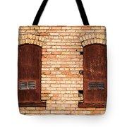 Vintage Urban Brick Building - Salt Lake City Tote Bag