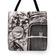 Vintage V8 Tote Bag