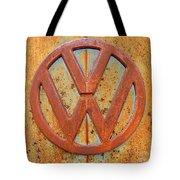 Vintage Volkswagen Bus Logo Tote Bag
