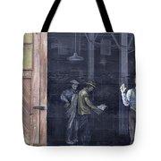 Vintage Warehouse Tote Bag