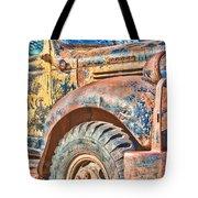 Vintage Welding Truck Tote Bag