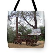 Vintage Well Driller 2 Tote Bag