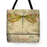 Vintage Wings-paris-e Tote Bag