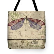 Vintage Wings-paris-f Tote Bag