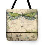 Vintage Wings-paris-g Tote Bag