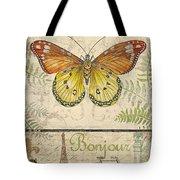 Vintage Wings-paris-l Tote Bag