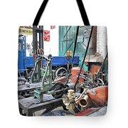Vintage Workshop In Colour Tote Bag