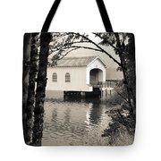 Vintaged Covered Bridge Tote Bag