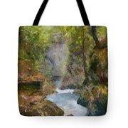 Vintgar Gorge Tote Bag