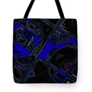 Vinyl Blues Tote Bag