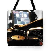 Vinyl Record Tote Bag