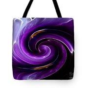 Viola Swirl Tote Bag