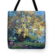 Viola Walking In The Park Tote Bag