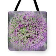 Violet And Green Tote Bag