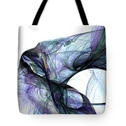 Violet Angel Rising Tote Bag