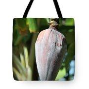 Violet Banana Blossom Tote Bag