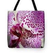 Violet Beauty Tote Bag
