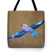 Violet-breasted Roller Bird II Tote Bag