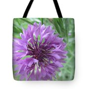 Violet Gentleman's Button Tote Bag
