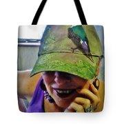 Violet-green Swallow Cap Tote Bag