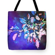 Violet Illumination Tote Bag