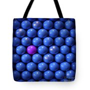 Violet Lost In Blue Tote Bag