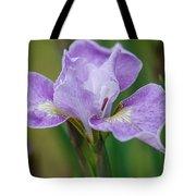 Violet Siberian Iris Tote Bag