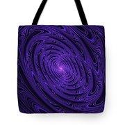 Violet Vortex-3 Tote Bag