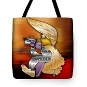 Violin Player Tote Bag by Marvin Blaine