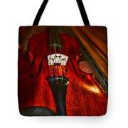 Violin Study Tote Bag