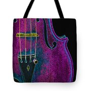 Violin Viola Body Photograph In Digital Color 3265.03 Tote Bag