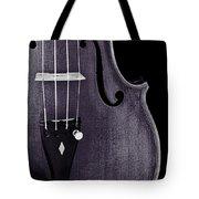 Violin Viola Body Photograph Or Picture In Sepia 3265.01 Tote Bag