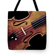 Violin Viola Photograph Strings Bridge In Color 3264.02 Tote Bag