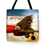 Virgin America A320 Tote Bag