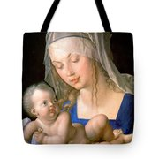 Virgin And Child Holding A Half-eaten Pear, 1512 Tote Bag