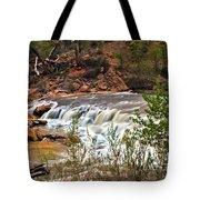Virgin Falls Tote Bag