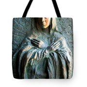 Virgin Mary Relief Tote Bag