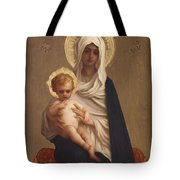 Virgin Of The Deliverance Tote Bag