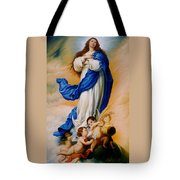 Virgin Of The Immaculate Conception After Murillo Tote Bag