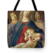 Virgin Of The Pomegranate Tote Bag