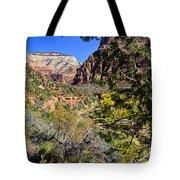 Virgin River View - Zion Tote Bag