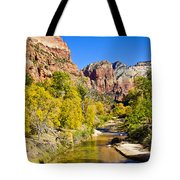Virgin River - Zion Tote Bag
