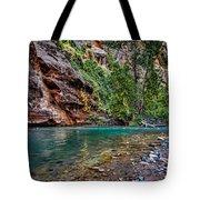 Virgin River Zion National Park Utah Tote Bag