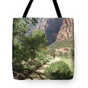 Virgin River Zion Valley Tote Bag