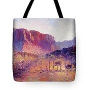 Virgin Valley View Tote Bag