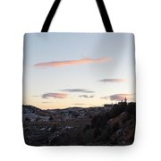 Virginia City Clouds  Tote Bag